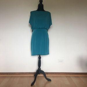 Jessica Simpson teal dress
